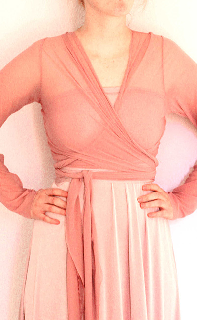 Wrap-top-mesh-Dusty-Pink