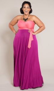 Bold & Beautiful – Plus-size infinity dresses – Flaunt it!